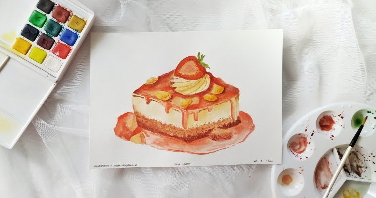 Food Watercolor Painting bersama Jalin Mimpi X Anja Watercolor